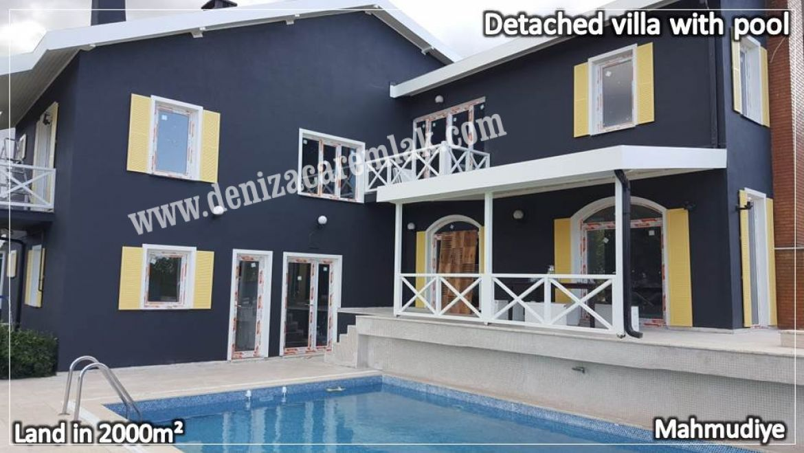 Sakarya Sapanca Detached villa with pool Villa For Sale