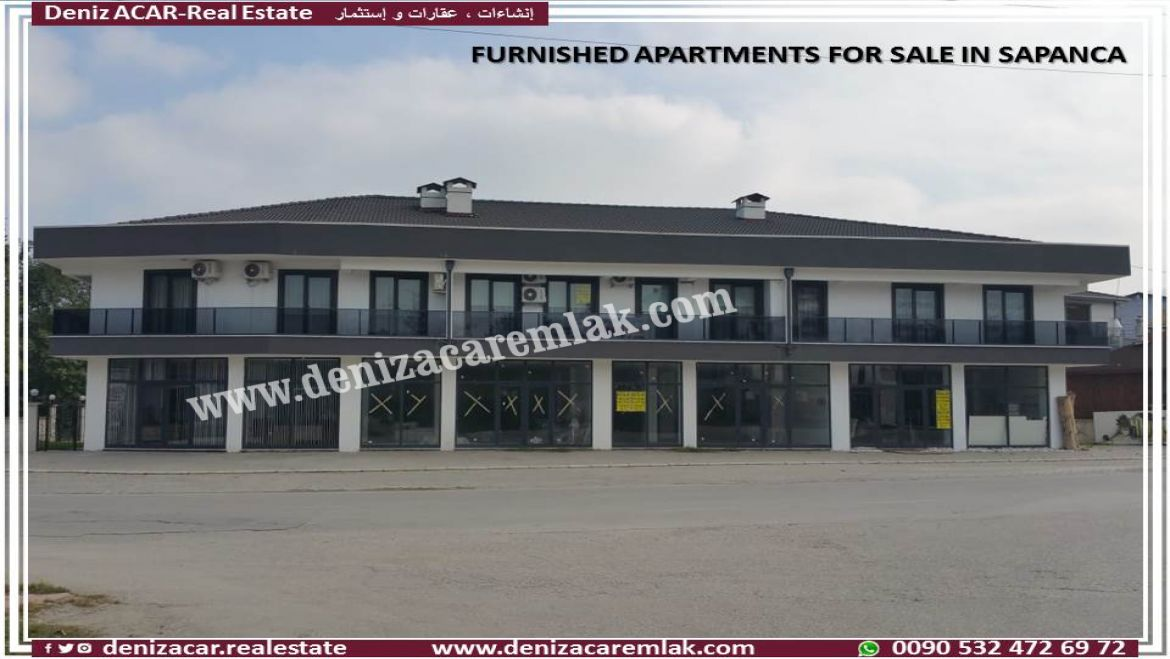Sakarya Sapanca FURNISHED APARTMENTS FOR SALE IN SAPANCA Flat For Sale