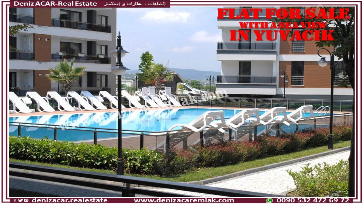 Kocaeli Başiskele SEA VIEW APARTMENT FOR SALE IN YUVACIK Flat For Sale
