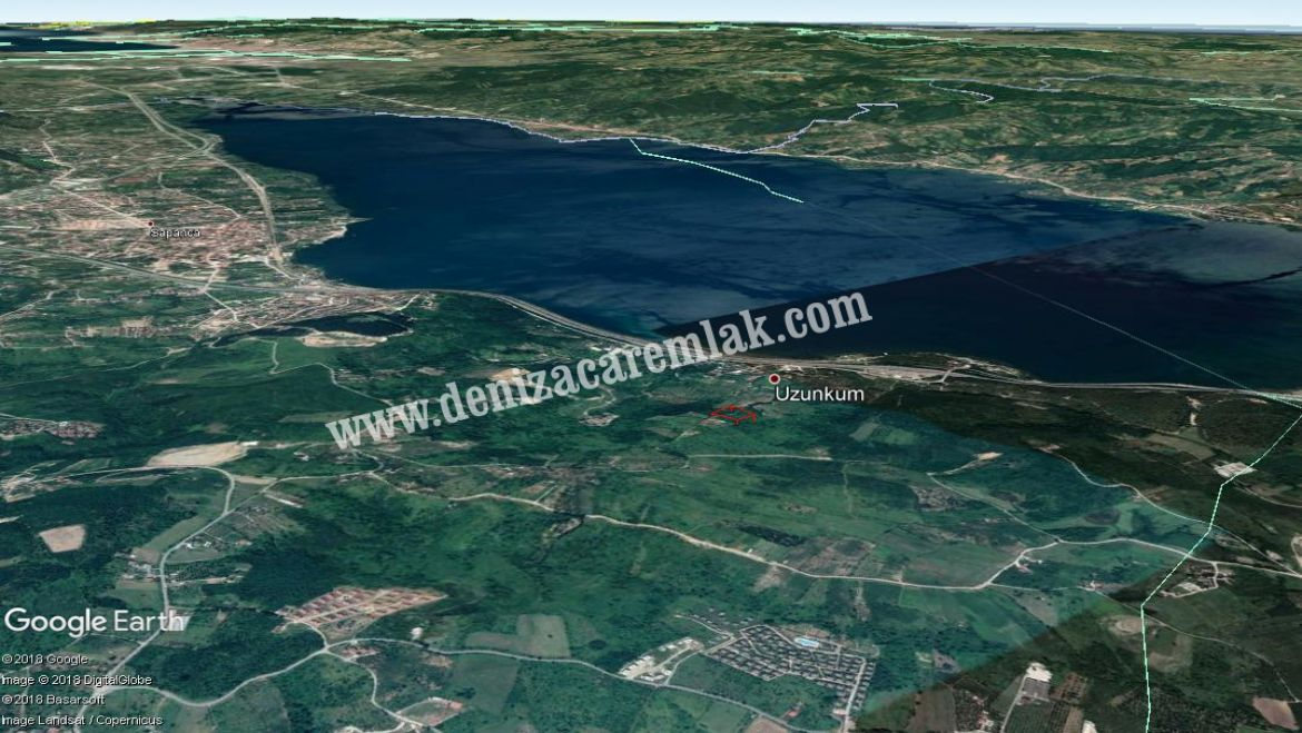 Sakarya Sapanca Lake View Land For Sale